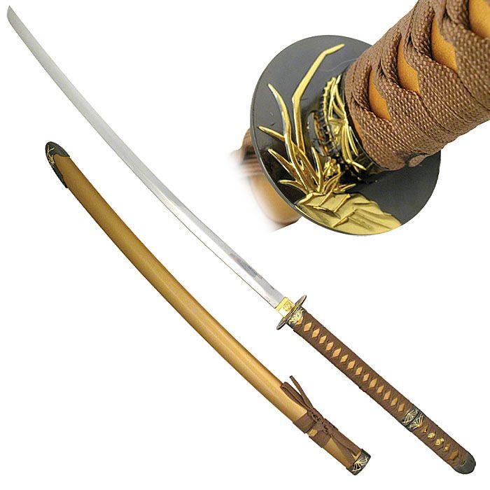 Оружие самураев.  Катана (Katana) - Японский меч.