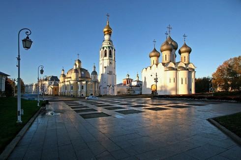 Софийская площадь г. Вологды