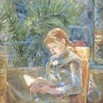 Berthe Morisot. Young girl reading