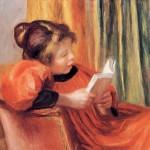 П. О. Ренуар. Читающая девочка. 1890