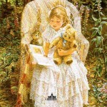 Sandra Kuck. Reading to Theodore
