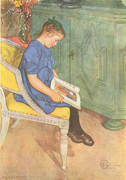 Carl Larsson — Anna Johanna