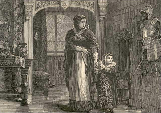 the use of scaffold in the novel the scarlet letter by nathaniel hawthorne