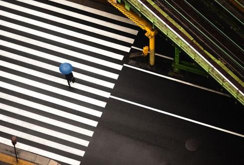 Пешеходные переходы Нью-Йорка и Токио (12)