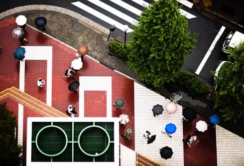 Пешеходные переходы Нью-Йорка и Токио (3)