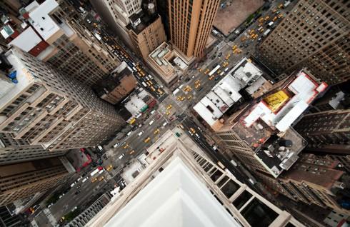 Пешеходные переходы Нью-Йорка и Токио (4)