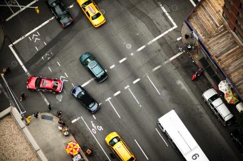 Пешеходные переходы Нью-Йорка и Токио (5)