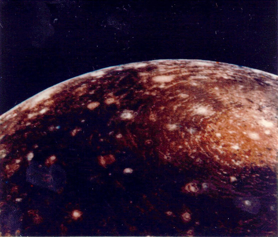 Спутник Юпитера КАЛЛИСТО